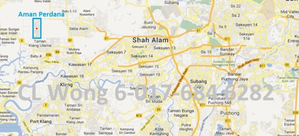 map of aman perdana
