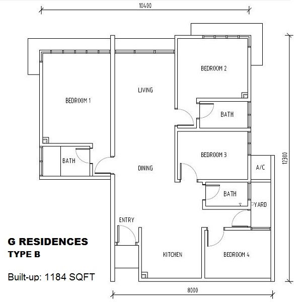 G Residence CL Wong 11